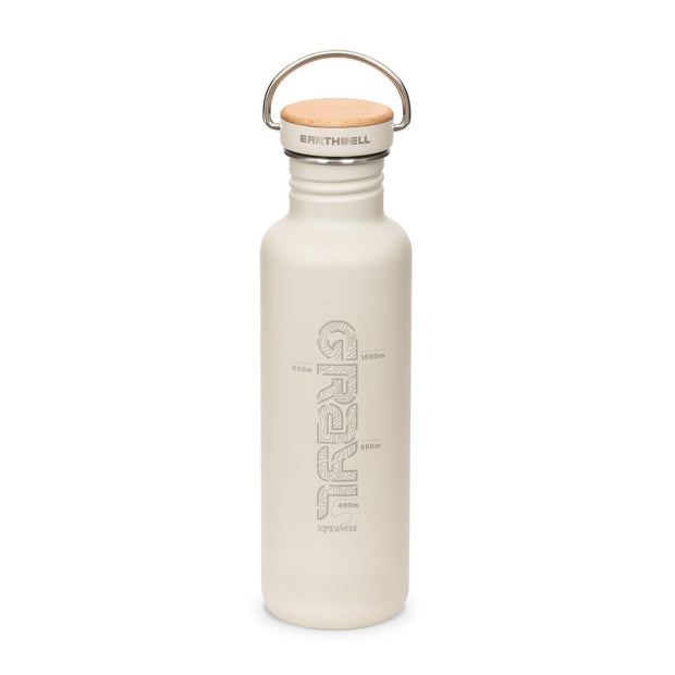 Grayl x Earthwell Single Walled Stainless Steel Water Bottle - Baja Sand