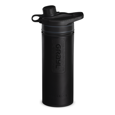 GEOPRESS™ Water Purifier – Covert Black