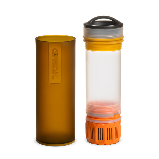 ULTRALIGHT Compact Water Purifier – Coyote Amber