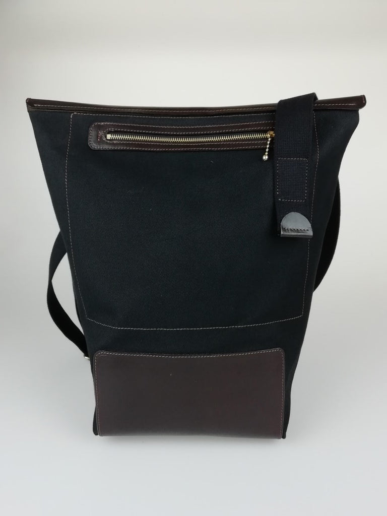All New Canvas & Leather Swag Bag Model 003