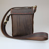 Gamekeeper Across Body Bag Brown performance English Bridle leather by Sam Brown London Wiltshire UK