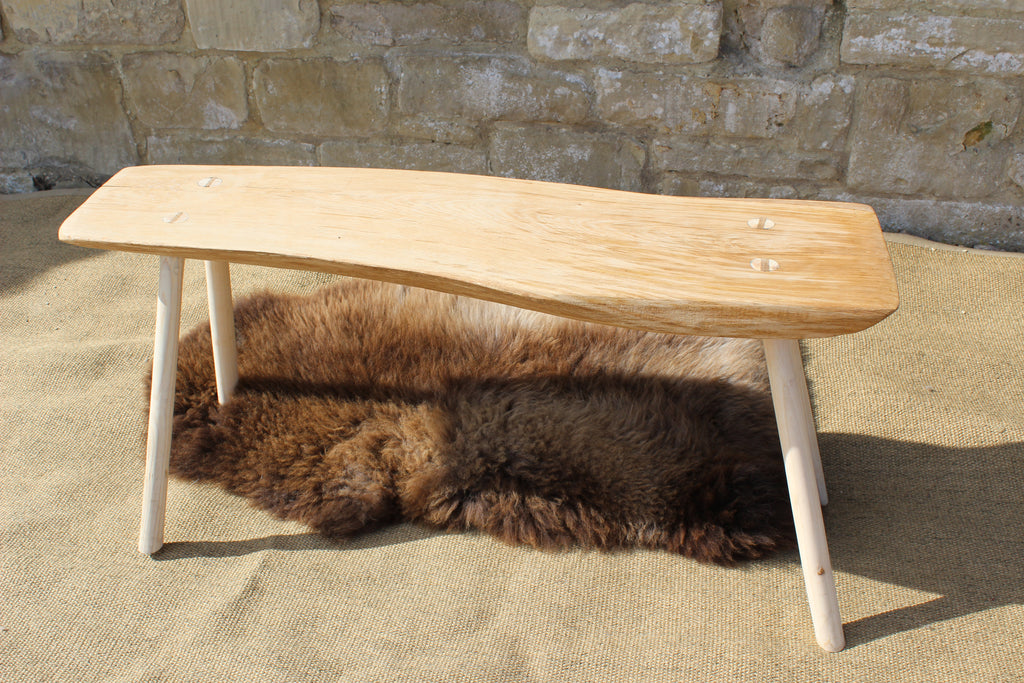 Natural Form Oak Benches