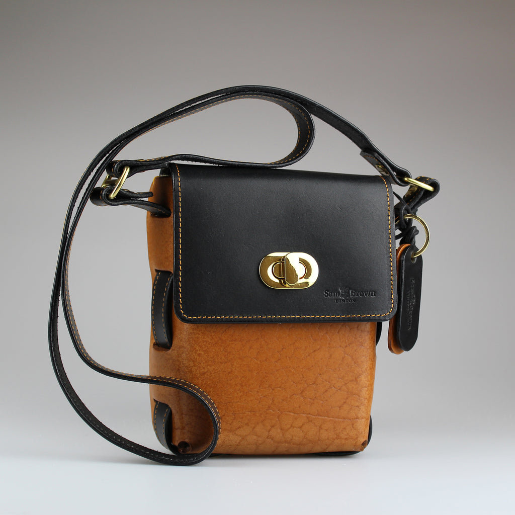 The Game Keeper Bag in Tan & Black