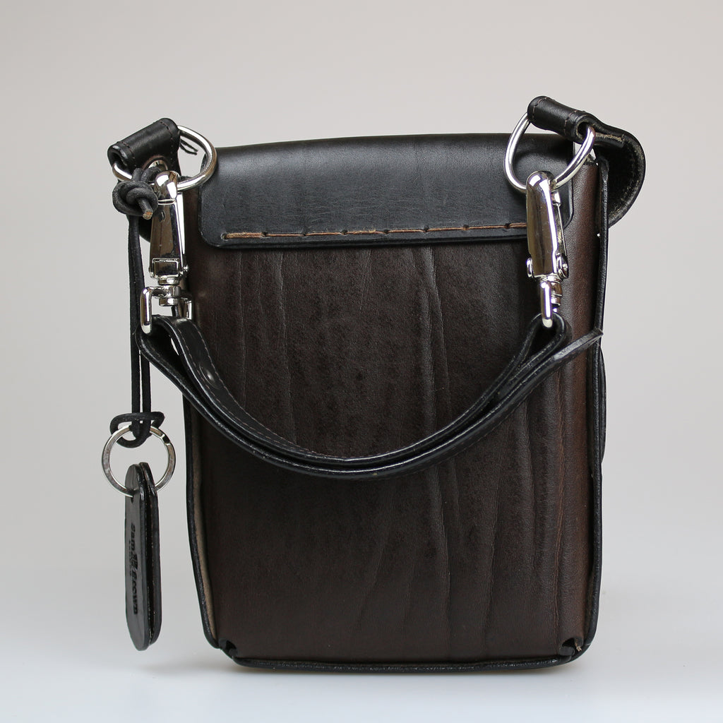 The Game Keeper Bag in Brown & Black