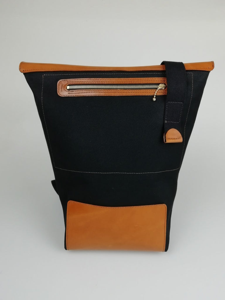 Tote bag with pocket on the back Sam Brown London
