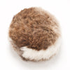 luxury English sheepskin foot stool pouffe kids and adults made in UK