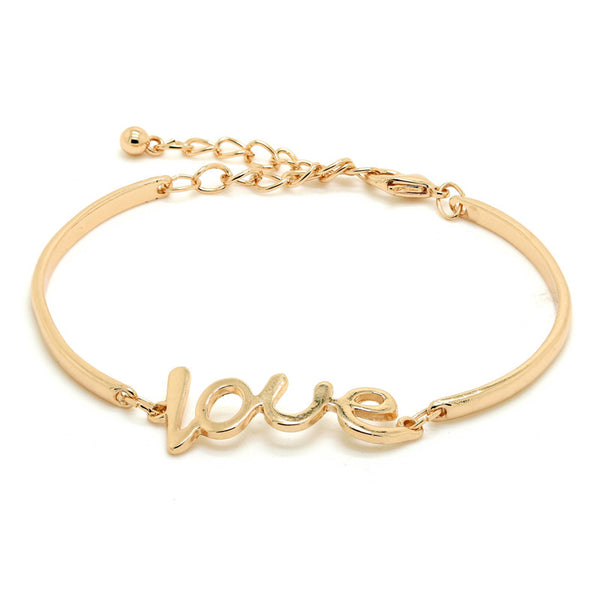 Gold Silver Color Love Bracelets For Women 2017 NEW Gift Items