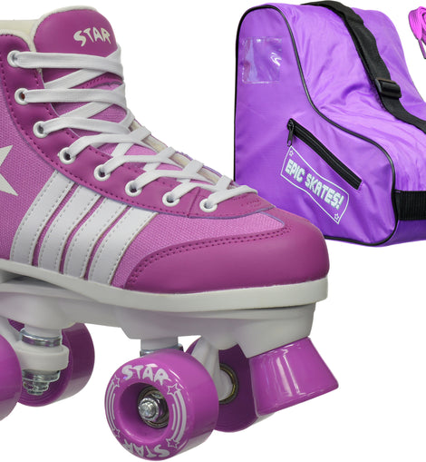 Epic Star Pegasus Quad Roller Skates Package