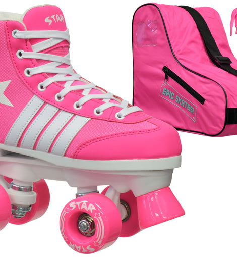 Epic Star Carina Quad Roller Skates Package