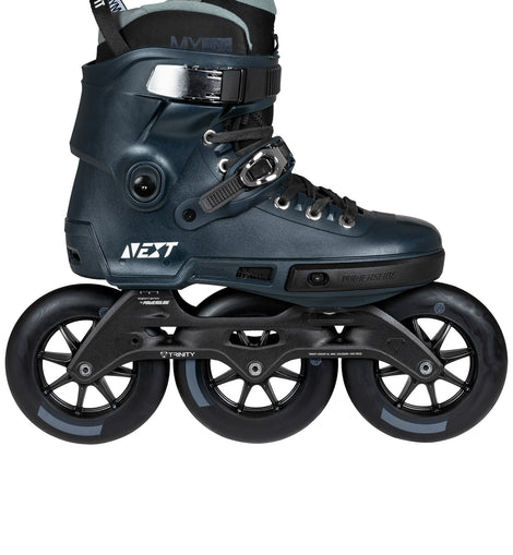 Powerslide Next Navy 125mm 3 Wheel Inline Skate - Fitness Superskate