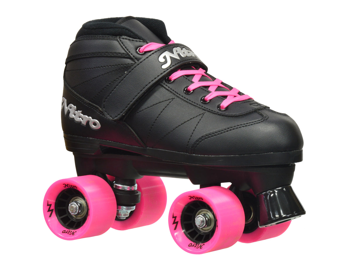 Epic Super Nitro Pink Speed Skates