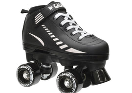 Epic Galaxy Elite Black Quad Roller Skates