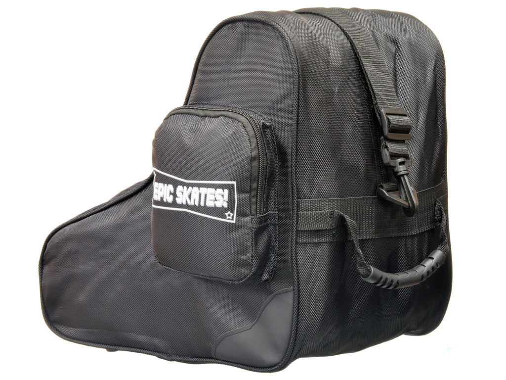 Epic Premium Black Skate Bag