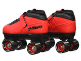 Epic Nitro Turbo Red Quad Speed Skates Package