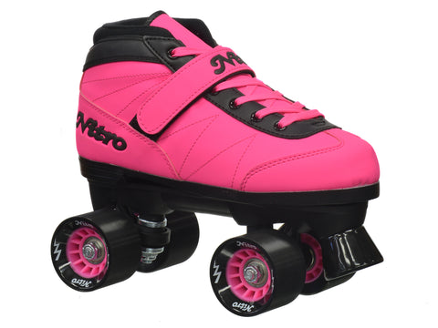 Epic Nitro Turbo Pink Quad Speed Skates Package