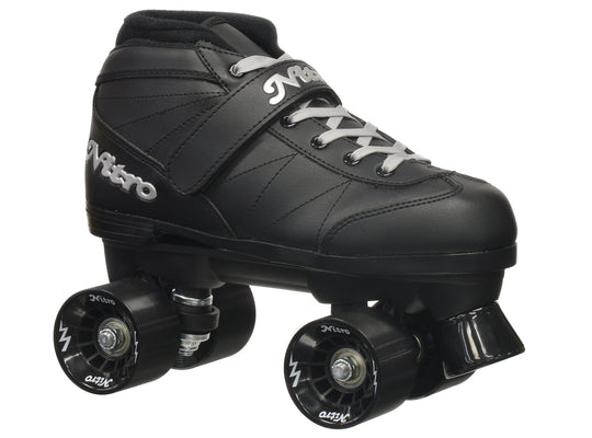 Epic Super Nitro Black Speed Skates