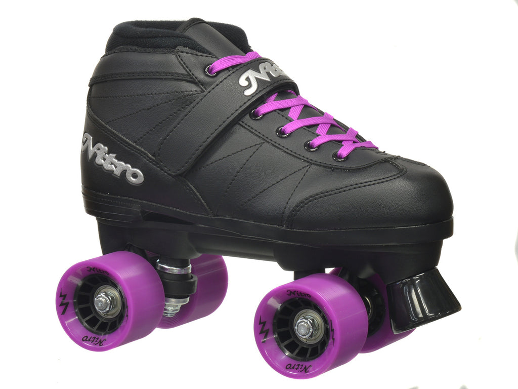 Epic Super Nitro Purple Speed Skates