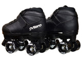 Epic Nitro Junior Black Quad Speed Skates
