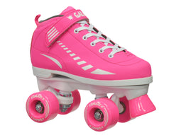 Epic Galaxy Elite Pink Quad Roller Skates