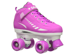 Epic Galaxy Elite Purple Quad Roller Skates