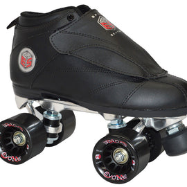 Epic Evolution Black Quad Speed Skates