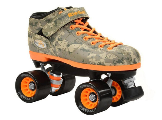 Riedell R3 Camo Quad Speed Skates