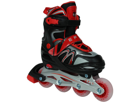 Epic Drift Adjustable LED Inline Skates