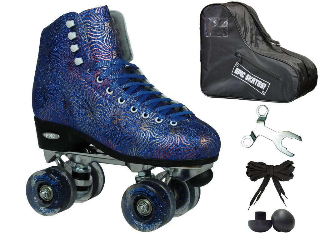 Epic Dazzle Roller Skates Package