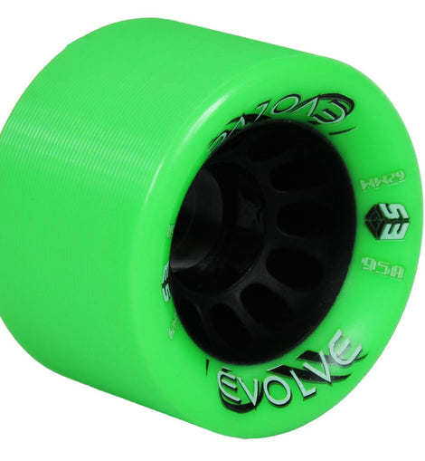 Epic Evolve Green Quad Speed Skate Wheels