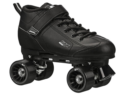 Pacer GTX 500 Black Quad Speed Skates