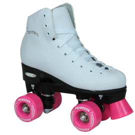Epic Pink Princess Quad Roller Skates