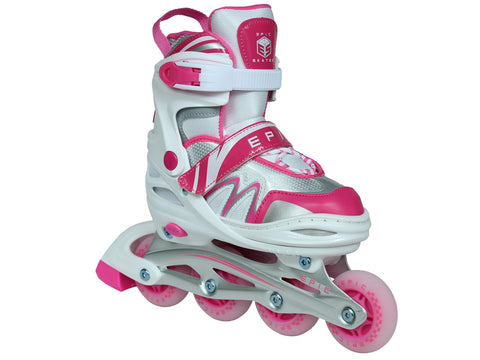 Epic Pixie Adjustable LED Inline Skates
