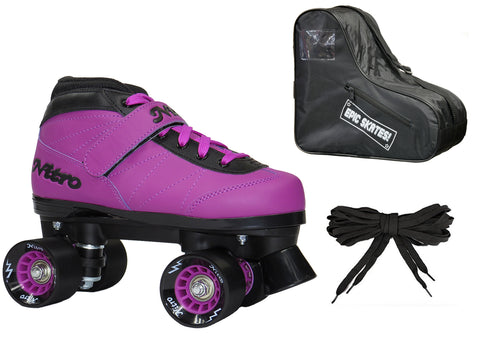 Nitro Turbo Purple Quad Speed Skate Package