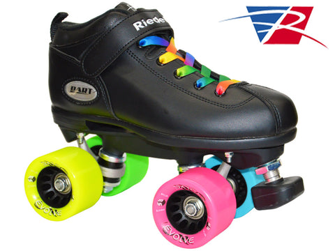 Dart Rainbow Evolve Quad Speed Skates
