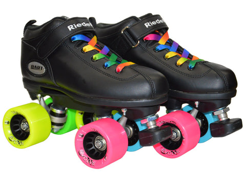 Dart Double Rainbow Evolve Quad Speed Skates