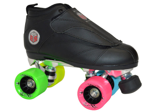 Epic Evolution Rainbow Quad Speed Skates