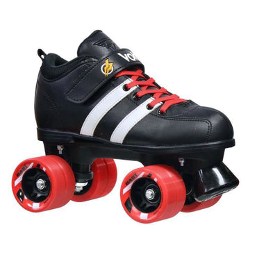 Riedell Red Volt Roller Skate 3 Pc Bundle