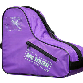 Epic Purple Roller Skate Accessory 3 Pc. Bundle w/Bag, Laces, Pompoms