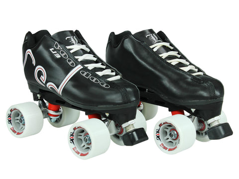 Labeda Voodoo U3 Black Quad Speed Skates