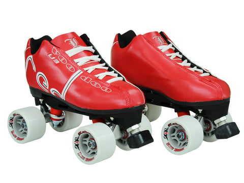 Labeda Voodoo U3 Red Quad Speed Skates