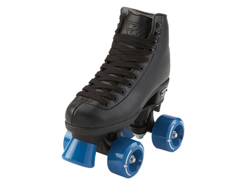 RW Wave Black Quad Roller Skates