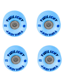 Epic Blue Twilight LED Light Up Roller Skate Wheels