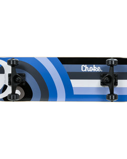Choke High C Logo Skateboard - Blue 32""