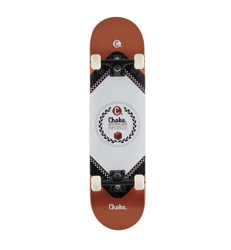 Choke Heavy Metal Skateboard - Bronze