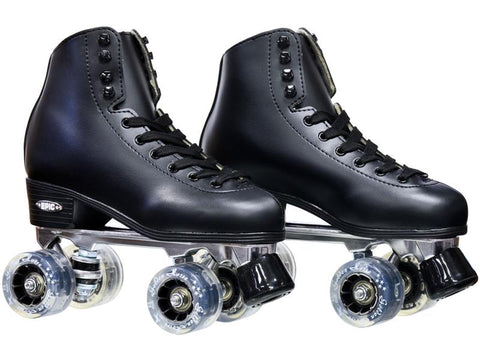 Epic Classic Black & Smoke Light-Up Roller Skates