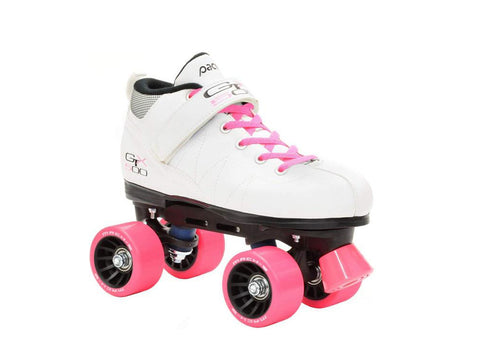 Pacer GTX 500 White Quad Speed Skates