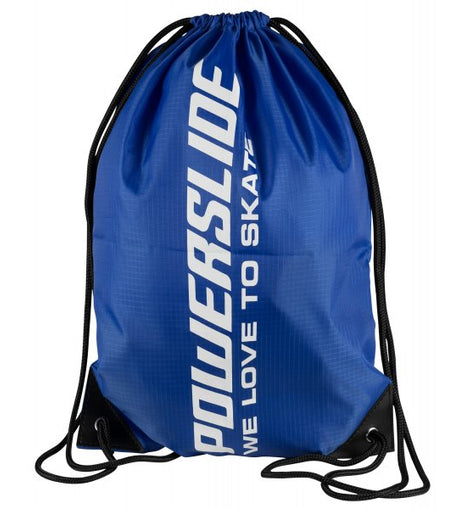 Powerslide Blue Drawstring Bag