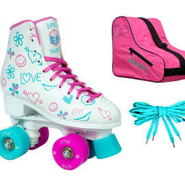 Epic Frost Roller Skates Package