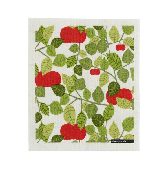 Dish cloth APPLE green