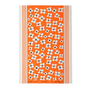 Tea towel BELLE AMIE orange